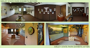 Sibley State Park Exhibits